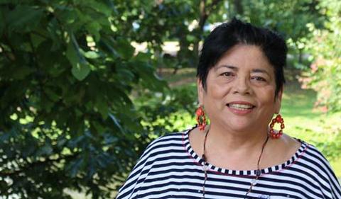 Dr. Dina López, portrait