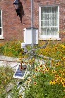 Green roof equipment