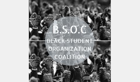 Black Student Organization Coalition logo