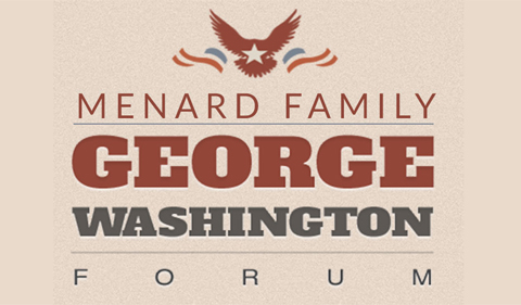 Logo for Menard Family George Washington Forum