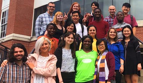 The Linguistics Department Graduate Cohort 2020