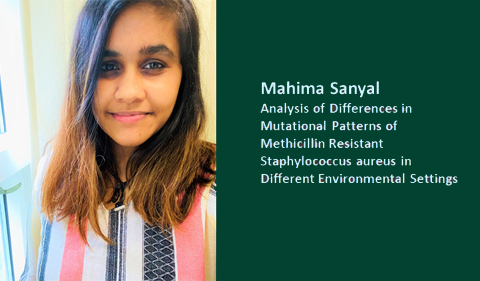 Mahima Sanyal: Analysis of Differences in Mutational Patterns of Methicillin Resistant Staphylococcus aureus in different environmental settings