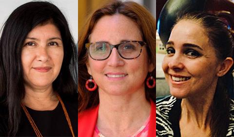 Carmen Ilizarbe, Claudia Hess and Maria Victoria Crespo