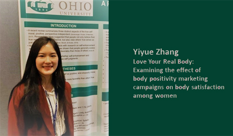 """Yiyue Zhang: """"Love Your Real Body: Examining the effect of body positivity marketing campaigns on body satisfaction among women"""""""
