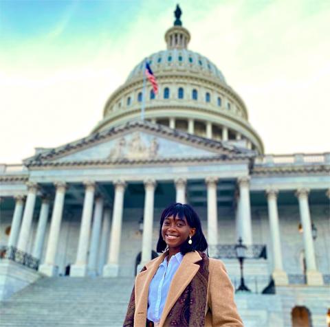 Sarah Ladipo at US Capitol