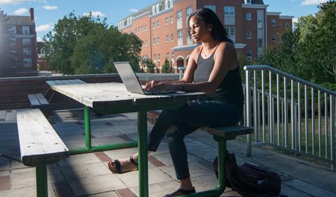 April Cunningham, Undergraduate Admissions, University College, voices of OHIO