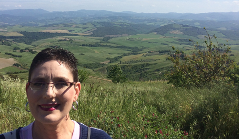 Dr. Molly Morrison in Italy